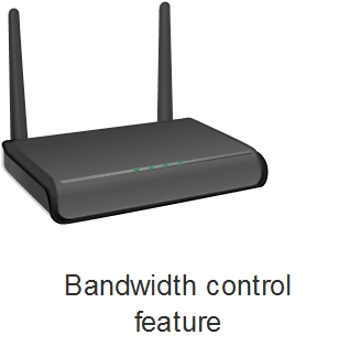 What is bandwidth control